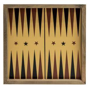 Backgammon Gameboard Frame #35388