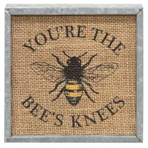 Bee's Knees Metal Box Sign #90971