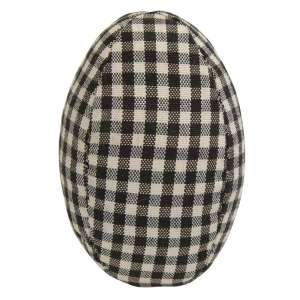 Black & White Gingham Egg #CS38001