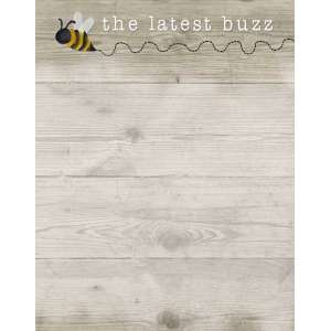 #50075, Latest Buzz Mini Notepad