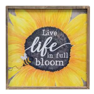 Live Life In Full Bloom Frame #35240