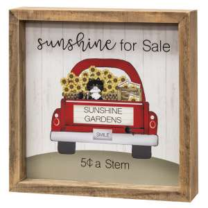 Sunshine for Sale Framed Sign #35299