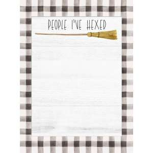 #54095 People I've Hexed Mini Notepad