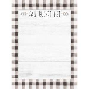 #54096 Fall Bucket List Mini Notepad