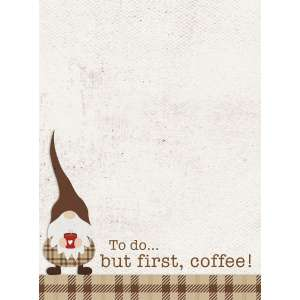 #54099 To Do...But First, Coffee! Mini Notepad