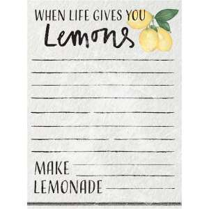 #54111 When Life Gives You Lemons Mini Notepad