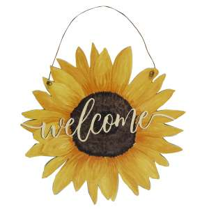 Sunflower Welcome Sign #35235