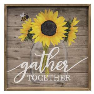 Gather Together Framed Sign #35239