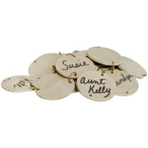 Birthday Calendar Replacement Tags (48 pcs/bag) - IVORY #35250