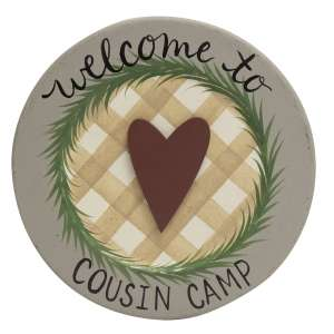 Cousin Camp Plate #35260
