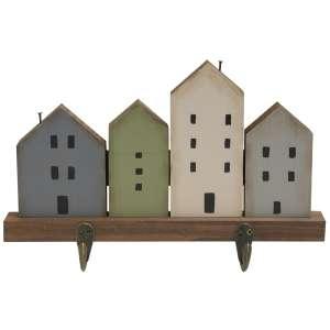 Primitive Village Hook Rack #35383