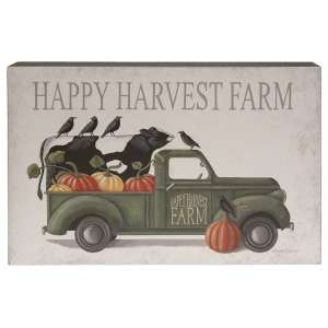 Happy Harvest Farm Truck Box Sign #35571