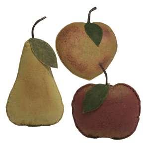 Stiffened Primitive Fruit, 3 Asstd. #90955