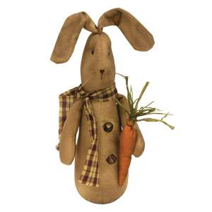 Bernie Bunny With Carrot #CS37890