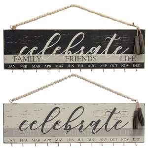 Family, Friends, Life Birthday Calendar, 2 Asstd. #35391
