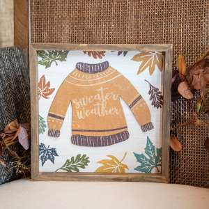 Sweater Weather Distressed Frame 35524