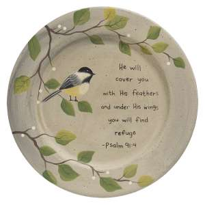 You Will Find Refuge Plate #35447