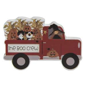 The Boo Crew Chunky Wooden Truck #35565