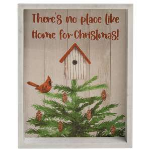 No Place Like Home Inset Box Sign #35586