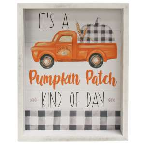 Pumpkin Patch Kind of Day Inset Box Sign #35599
