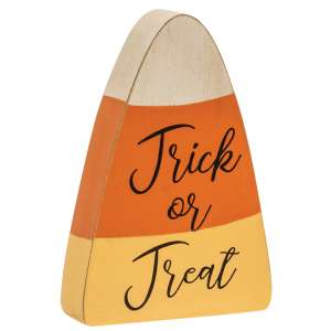 Trick Or Treat Candy Corn Chunky Sitter #35683