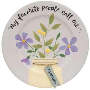 My Favorite People Call Me Grandma Plates, 3 Asstd. #35811