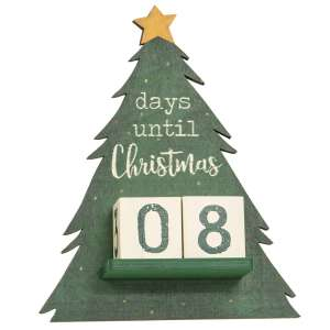 Christmas Tree Christmas Countdown Calendar #35726