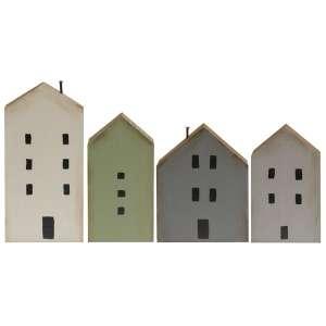 4/Set, Primitive House Blocks #35384