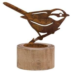 Rusty Bird Tealight Holder - Small #90147