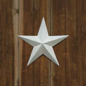 "White Barn Star - 12"" - # 46564"