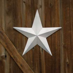 "White Barn Star - 18"" - # 46565"