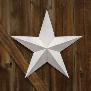 "White Barn Star - 24"" - # 46566"