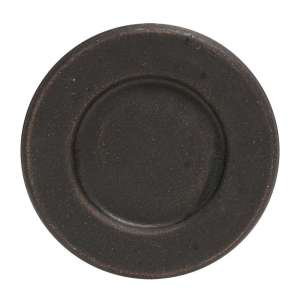"{[en]:6"" Weathered Plate - Black -"