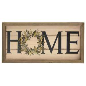 {[en]:Framed Spring Lilac Home Sign