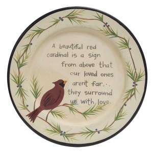 Loved One Cardinal Plate - # 34395