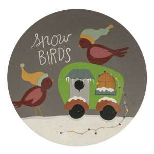 {[en]:Snow Birds Camper Plate