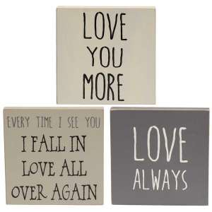 {[en]:Love You More Blocks - Farmhouse Colors