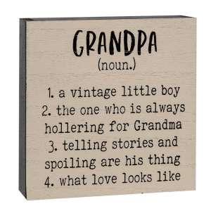 {[en]:Grandpa Definition Box Sign