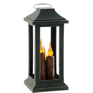 Burnt Mustard 3-Taper Lantern, 10 inch #84641