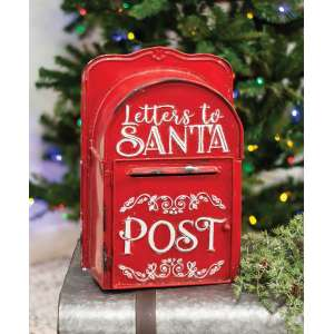 {[en]:Letters to Santa Post Box, Red -