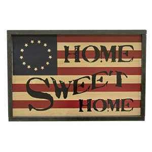 {[en]:Home Sweet Home Americana Sign