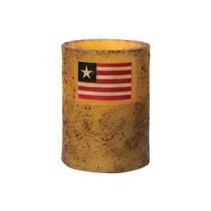 "3"" x 4"" Flag Timer Pillar - Burnt Ivory - # 84170"