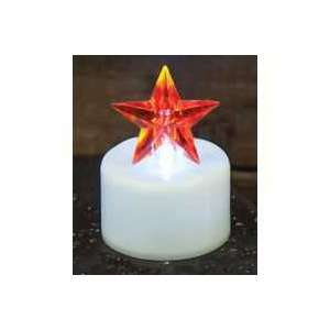 Red Star Timer Tealight - # 84240