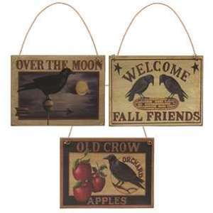 33887 Old Crow Apples Ornament