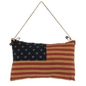 CS37152 Flag Pillow Ornament