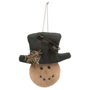 CS37153 Mossy Snowman Ornament