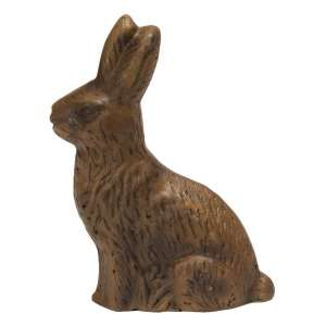 "{[en]:Resin ""Chocolate"" Bunny - Medium -"