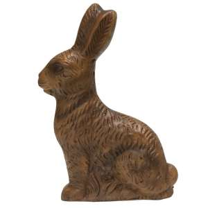 "{[en]:Resin ""Chocolate"" Bunny - Large -"