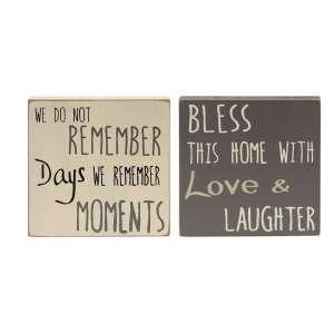 {[en]:Remember Moments Block, 2 asst.