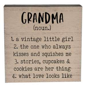{[en]:Grandma Definition Box Sign